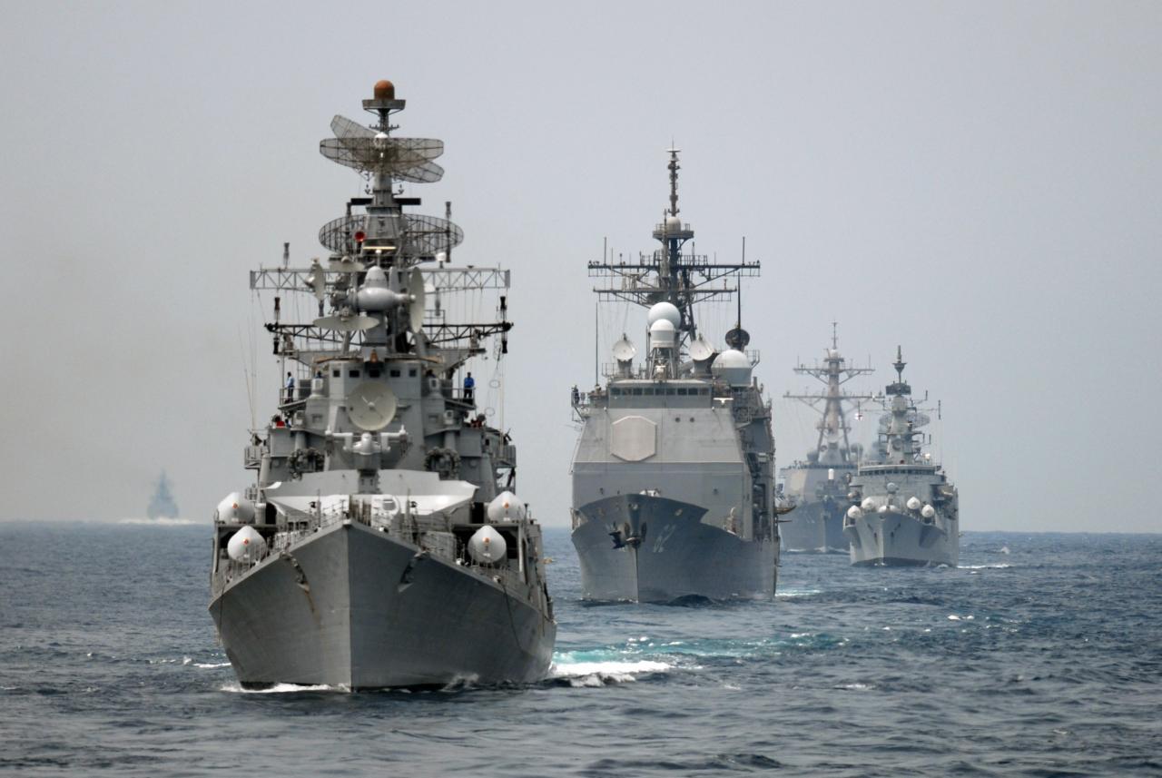 Ấn Độ điều tàu chiến, quyết so kè với Con đường tơ lụa y tế của Trung Quốc - 1
