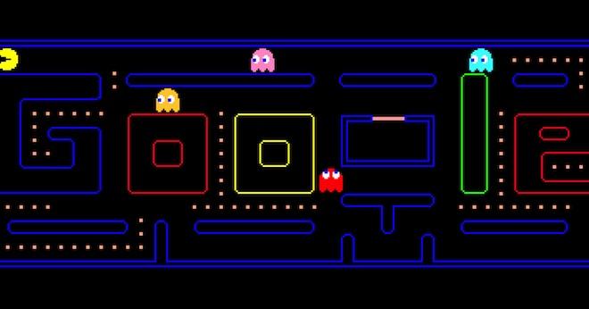 """""""Nóng"""" nhất Google: Trò chơi """"ăn gạo"""" Pacman nhỏ mà hay, xổ số trở lại,... - 1"""