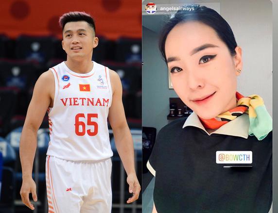 Nữ tiếp viên Sài thành giữ dáng với bóng rổ - 1