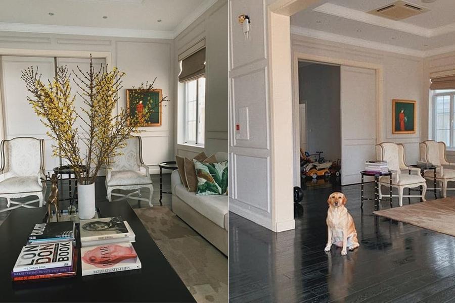 Không phải biệt thự trắng triệu đô nhà chồng, Tăng Thanh Hà đang sống trong cơ ngơi đẹp như tranh - 2