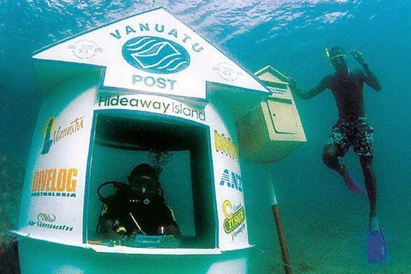 Độc đáo bưu điện dưới nước ở ngoài khơi Thái Bình Dương - 1