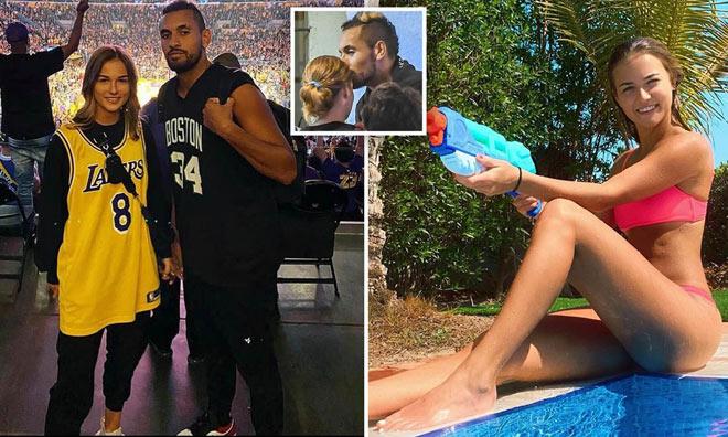 """""""Sharapova mới"""" đoạn tình trai hư Kyrgios: Không yêu chẳng cần làm bạn - 1"""
