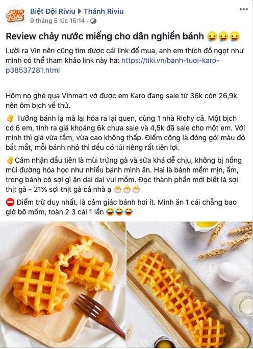 Karo trứng tươi chà bông – chiếc bánh làm mưa làm gió cộng đồng mạng - 1