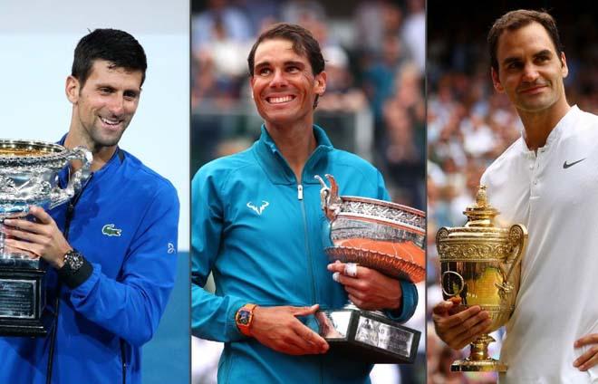 Djokovic ôm mộng vĩ đại nhất lịch sử: Đủ sức hất cẳng Federer - Nadal? - 1