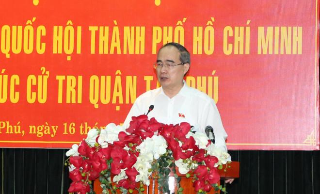 Bí thư Nguyễn Thiện Nhân nói về công tác cán bộ liên quan Khu đô thị mới Thủ Thiêm - 1