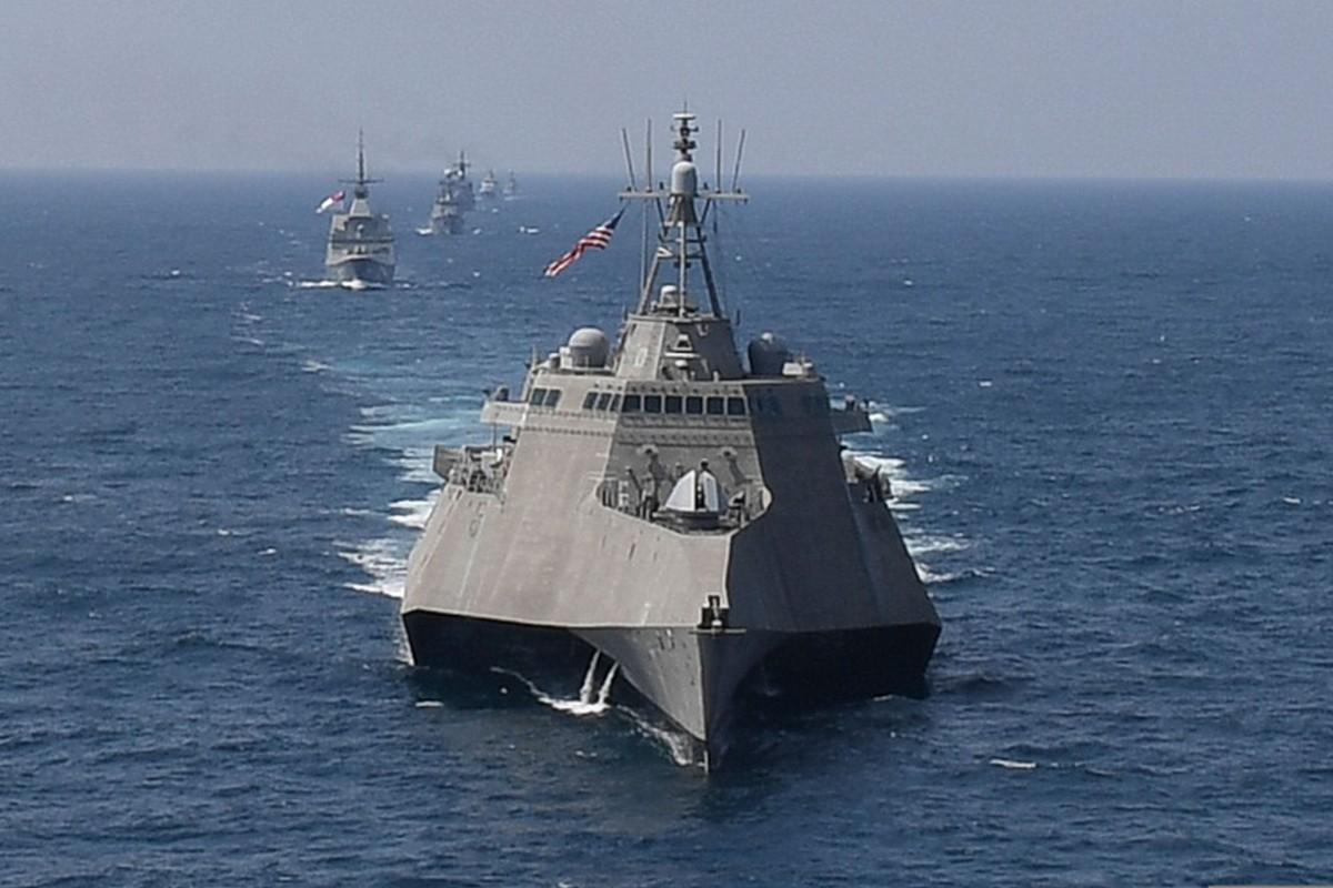 Mỹ tiếp tục thách thức khi điều tàu chiến đi gần lãnh thổ Trung Quốc - 1
