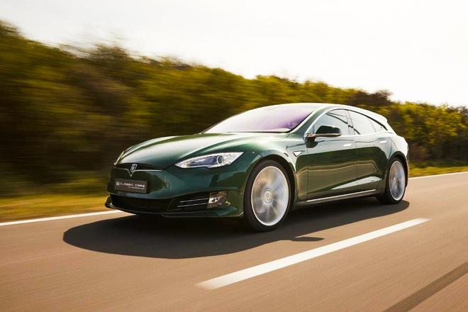 Soi chi tiết mẫu xe điện Tesla độc đáo, có giá bán hơn 5,5 tỷ đồng - 1