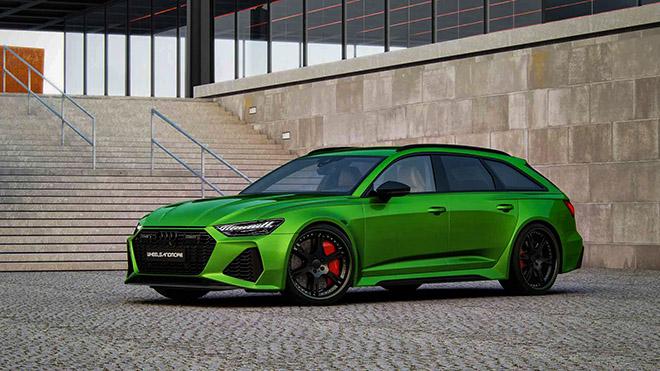 Hãng độ Wheelsandmore nâng cấp công suất Audi RS6 Avant 2020 mạnh hơn cả siêu xe - 1