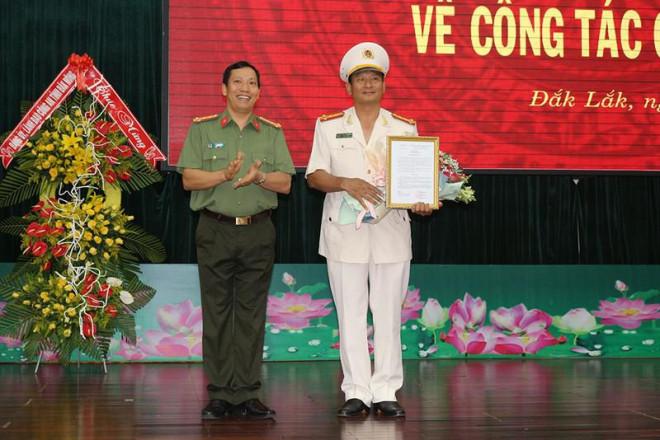 Bộ công an điều động, bổ nhiệm Phó giám đốc Công an Đắk Lắk - 1