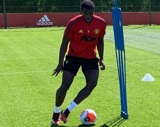 The first training session of MU after Covid-19: Fernandes, Lingard impressed - 4