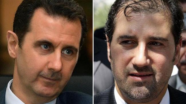 Vụ việc cho thấy sự rạn nứt trong mối quan hệ giữaTổng thống Assad và người em họ giàu có.