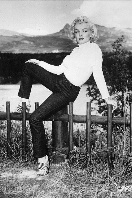 Nhìn lại lịch sử chiếc quần jean skinny - 1