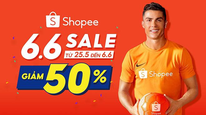 """Shopee khởi động chương trình """"Sale Giữa Năm - Giảm 50%"""" và hoàn tiền 50% - 1"""
