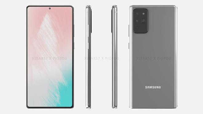 Đây có thể là thiết kế Galaxy Note20 sắp tới, đẹp khó cưỡng - 1