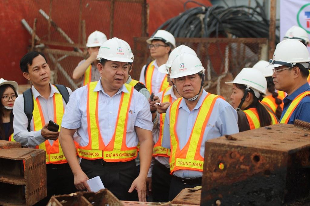 Công trình chống ngập 10.000 tỷ đồng ở Sài Gòn hẹn vận hành vào tháng 10 - 1