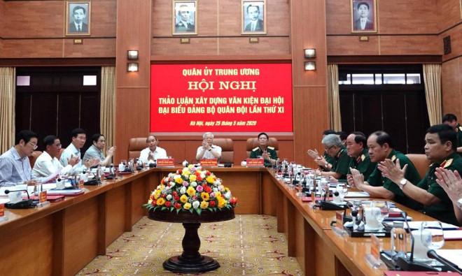 Tổng Bí thư, Chủ tịch nước: Chuẩn bị thật tốt nhân sự Quân đội tham gia Trung ương khóa XIII - 1