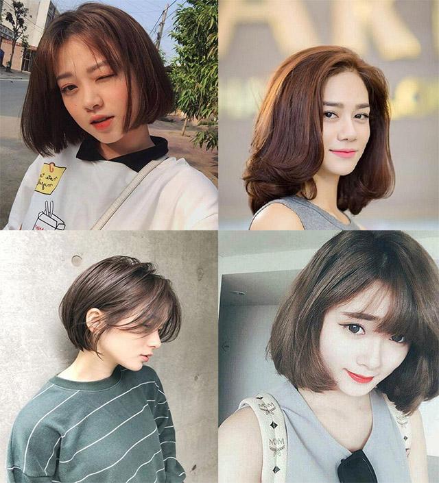 15 kiểu tóc ngắn cho mặt vuông đẹp trẻ trung nhất cho bạn gái năm 2020 - 1