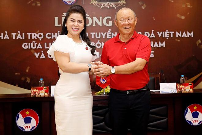 Bà Diệp Thảo chung tay giúp thầy trò HLV Park Hang Seo vươn tầm châu Á - 1