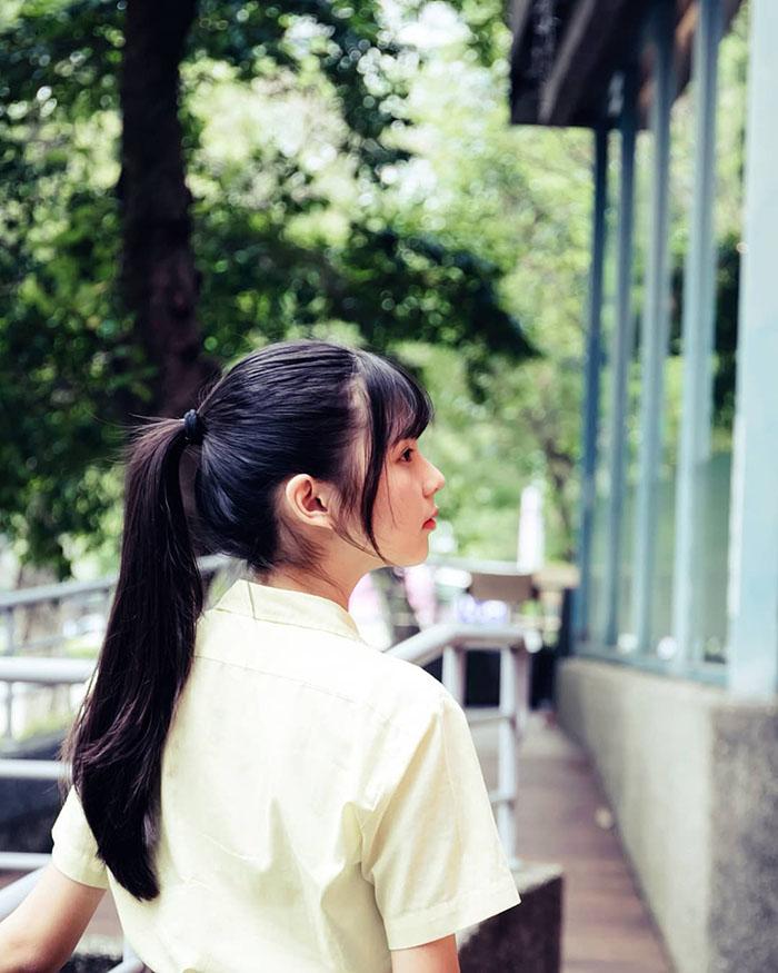 Cô gái được mệnh danh là học sinh trung học xinh đẹp nhất Đài Loan - 5