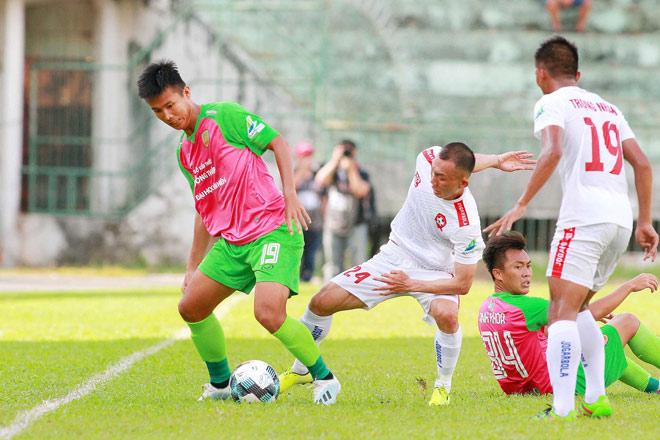 Video highlight trận Đồng Tháp - Hải Phòng: 4 bàn ngỡ ngàng, hẹn đấu Hà Nội - 1