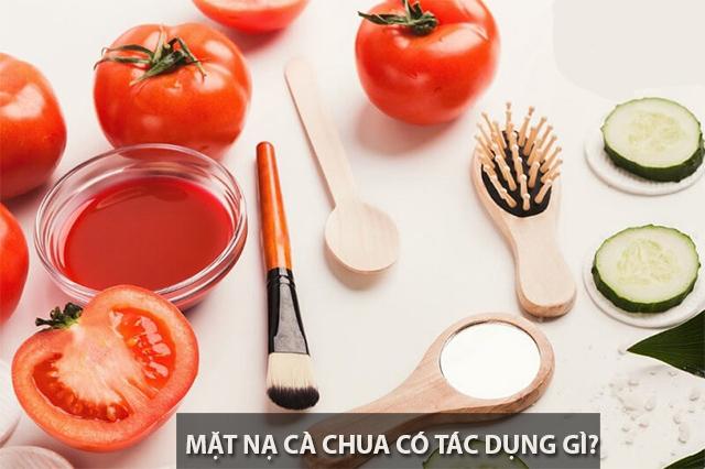 10 loại mặt nạ cà chua giúp trị mụn trắng da an toàn hiệu quả nhất - 1