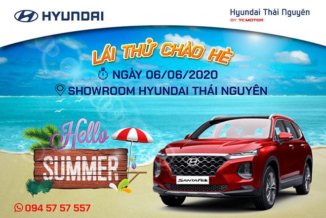 Cùng chờ đón sự kiện lái thử đặc biệt chào hè của Hyundai Thái Nguyên sắp diễn ra - 1