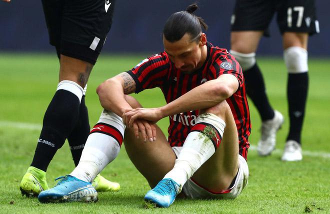 Cay đắng Ibrahimovic sắp giải nghệ sau buổi tập định mệnh với AC Milan - 1