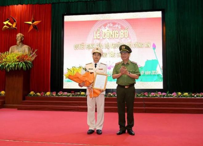 Cục phó An ninh mạng được bổ nhiệm Giám đốc Công an tỉnh Hòa Bình - 1