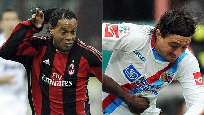 """Ronaldinho gây ngỡ ngàng, """"cúi mặt"""" xin đối thủ đừng ra tay đánh mình - 1"""