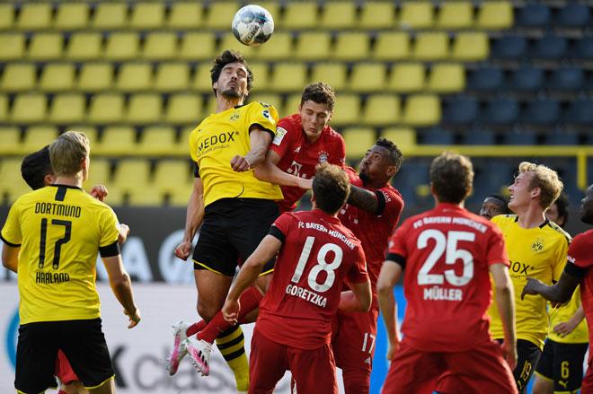 Video highlight Dortmund - Bayern Munich: Đôi công hấp dẫn, siêu phẩm bất ngờ - 1