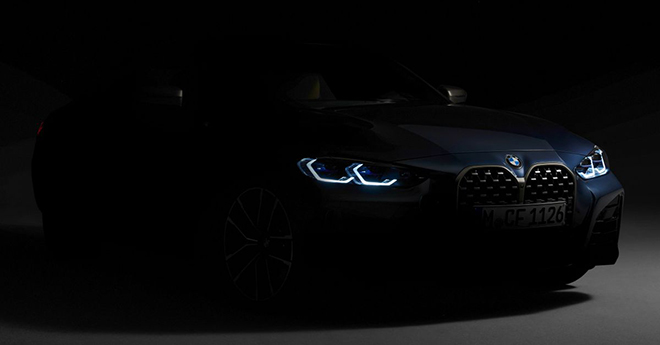 """BMW 4-Series Coupe 2021 với chiếc """"mũi to"""" chốt ngày ra mắt - 1"""