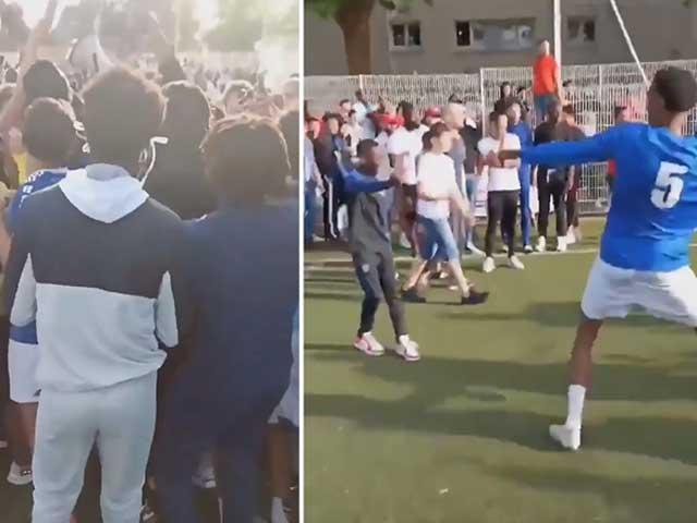 Choáng váng bóng đá Pháp lén lút thi đấu bất chấp lệnh cấm Covid-19 - 1