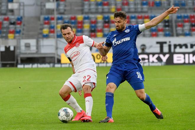 Video highlight trận Dusseldorf – Schalke 04: Hiệp 2 tưng bừng, ngược dòng sững sờ - 1