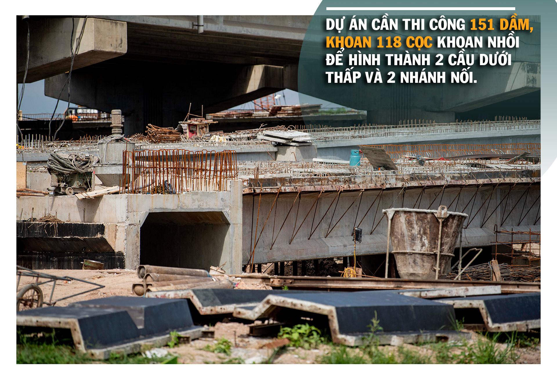 Toàn cảnh cầu hàng trăm tỷ vượt qua hồ nước đẹp bậc nhất Hà Nội - 9
