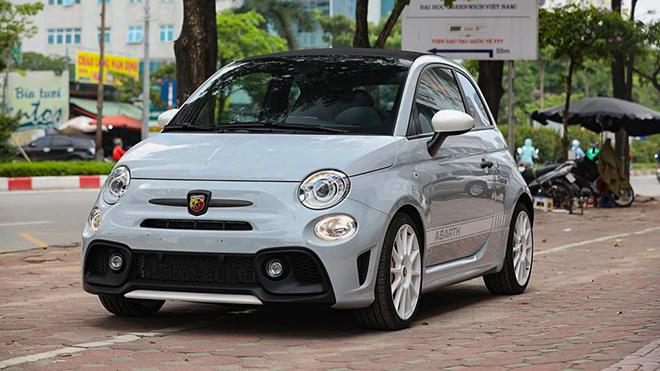 Chi tiết xe cỡ nhỏ, giá khủng Fiat Abarth 595 Esseesse tại Việt Nam - 1