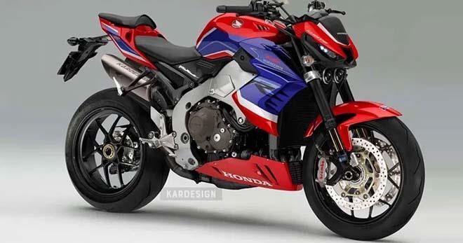 """Siêu naked-bike Honda CB1000RR-R chuẩn bị trình làng: StreetFighter V4 """"toát mồ hôi"""" - 1"""