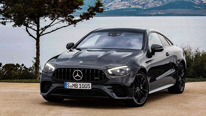 Cận cảnh mẫu xe Mercedes-AMG E53 4MATIC+ Coupe 2021 vừa ra mắt - 1