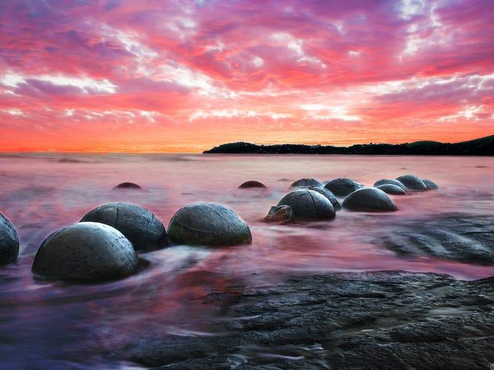 Những bãi biển đặc biệt giống như ở hành tinh  khác - 1