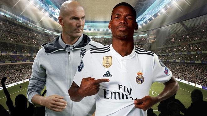 """Real Madrid bày mưu cuỗm Pogba khỏi MU, cử Zidane gặp kín """"siêu cò"""" - 1"""