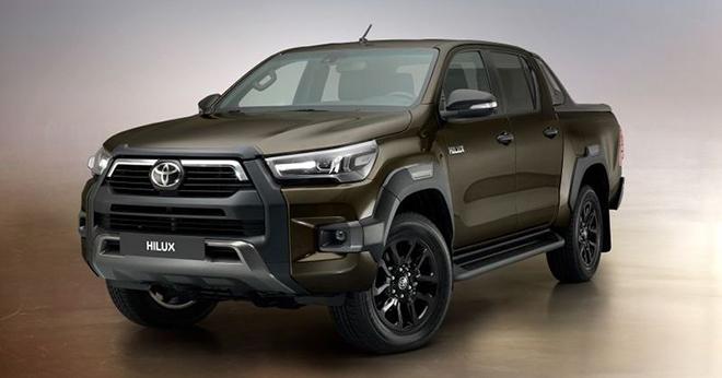 Toyota Hilux 2021 ra mắt, giá từ 520 triệu đồng - 1