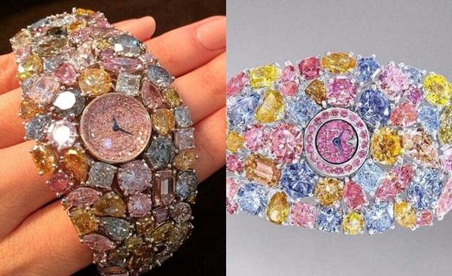Mỗi viên kim cương trên Hallucination đều được gắn một cách tỉ mỉ nhất đảm bảo được chất lượng cao và vẻ đẹp.