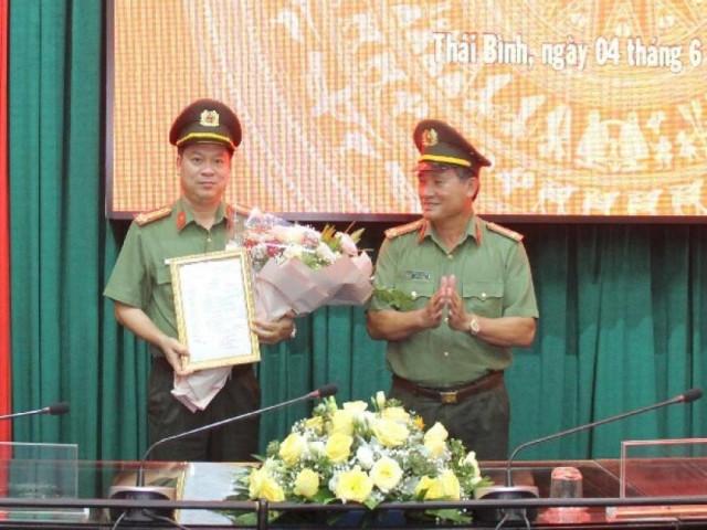 Tin tức trong ngày - Giám đốc Công an Thái Bình được thăng hàm Đại tá