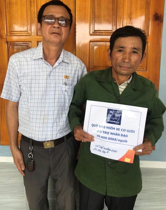 Quỹ Bảo hiểm Xe cơ giới hỗ trợ nhân đạo gia đình nạn nhân tử vong do tai nạn giao thông - 1