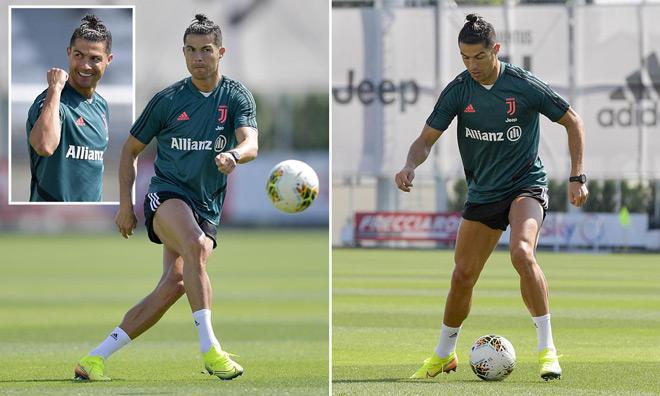 """Ronaldo có cách lạ hóa """"ma tốc độ"""" khi tập ở Juventus, lợi hại cỡ nào? - 1"""