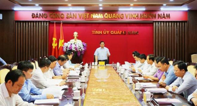 Quảng Ninh xin chủ trương thí điểm bầu trực tiếp Bí thư Tỉnh ủy tại Đại hội - 1