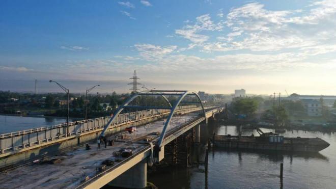 Ngắm những cây cầu thi công nhanh kỷ lục - 1