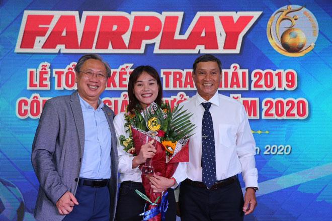 """""""Chiến binh"""" Chương Thị Kiều đoạt giải Fair Play 2019 - 1"""
