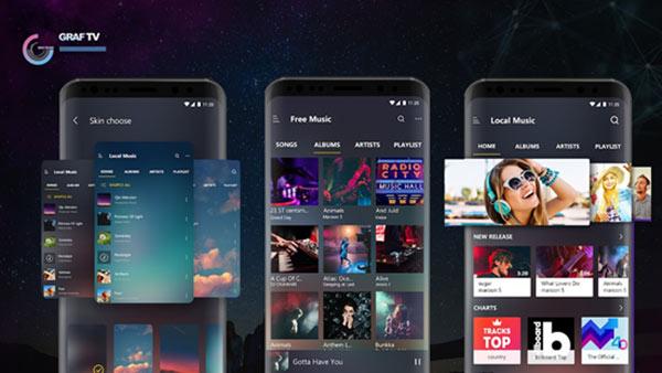 GRAFTV - Ứng dụng nghe nhạc trực tuyến sắp ra mắt tại thị trường Việt Nam - 1