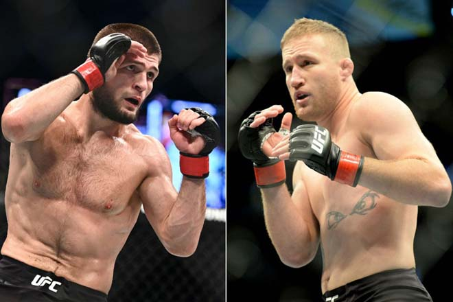 """Đại chiến UFC: """"Gã nổi loạn"""" Gaethje thách thức ngai vàng Khabib khi nào? - 1"""