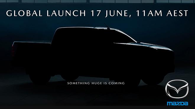 Xe bán tải Mazda BT-50 thế hệ mới sắp được ra mắt vào ngày 17/6 tới đây - 1